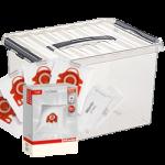 Miele 4 pakken F/J/M in opbergbox